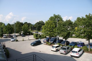 View parking lots